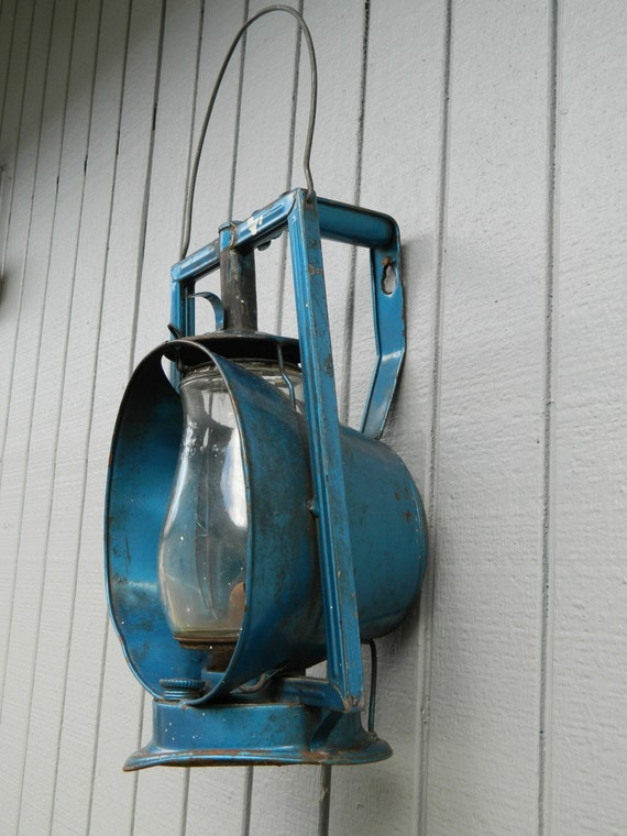Vintage Railroad Acme Inspector Lamp Railroad Lantern Light