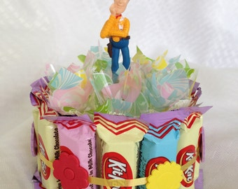 Disney Pixar Toy Story Chocolate Candy Cake, Favor, Gift Basket Easter ...