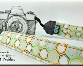 Camera strap, camerastrap, DSLR, light gray