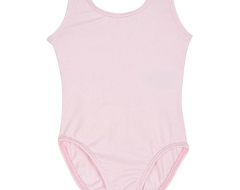 LIGHT PINK Leotard for Toddler & Girls - Sleeveless Tank