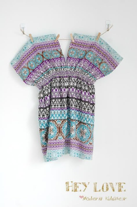 Boho Tunics uk Boho Tunic Dress Pattern