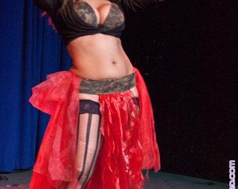 Made to Order ~ Basic Bellydance Bedlah: Belt & Bra Set for Dancing, Performing, Partying