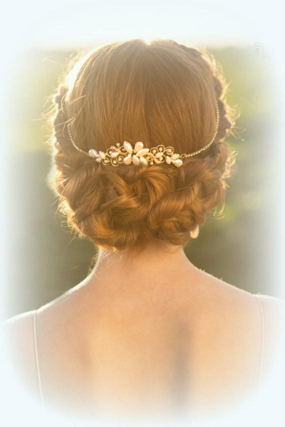 Wedding bridal tiara Wedding Hair Accessories by Ayajewellery - photo #15
