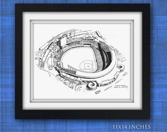 Kauffman Stadium, Kansas City Limited Print
