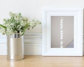 Refraction Photo - Abstract Art, Neutral Photo, Fine Art Photo, Cottage Chic Décor, Minimalist Photo, Summer Trends - Matte Finish