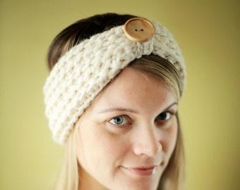 Easy CROCHET PATTERN Chunky Headband Beginner The Baltimore 3 SIZES Adult Child Toddler
