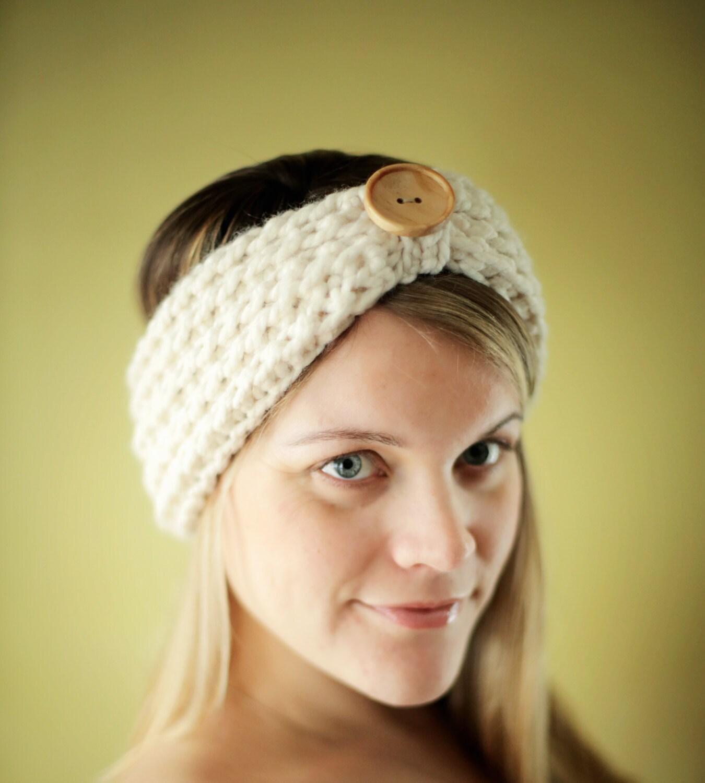 Crochet headband pattern chunky yarn manet for easy crochet pattern chunky headband beginner the baltimore 3 bankloansurffo Images