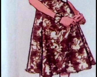 Simplicity 8031  Misses' Dress Designer Fashion Bust 31.5""