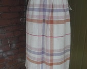 Plaid Skirt by Kayo of Ca...