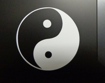 Yin Yang Decal for Car, Boat, Window, Computer ETC
