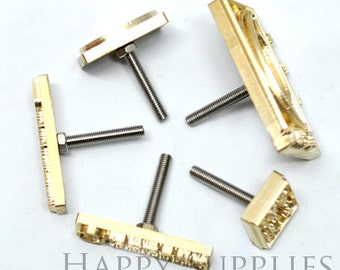 Customized Logo Branding Iron Brass Leather Stamp / Heat Embosser / Wood Embossing Stamp / Soap Stamp / Food Stamp / Cookie Stamp