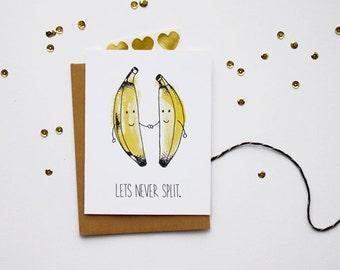 Love Card - Banana Split