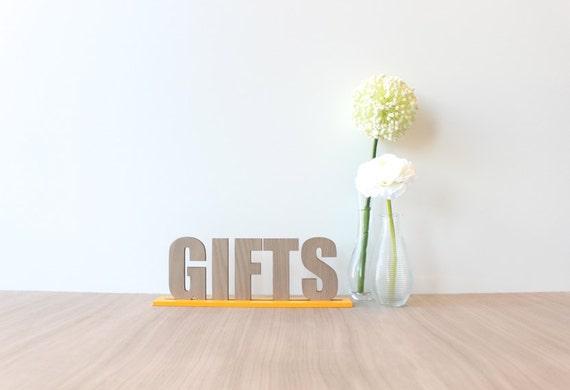 Modern Wedding Gifts: 25% OFF: Wedding Gifts Sign Modern By Hostandtoaststudio