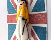 Freddie Mercury Brooch, Magnet or Necklace