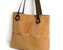 Cork Bag - Eco Friendly Shoulder Bag