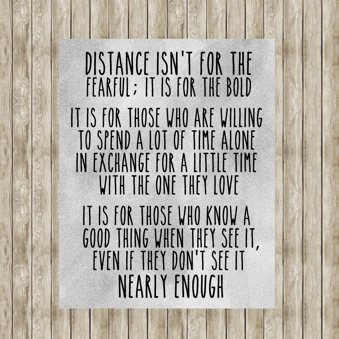 Distant Relationship Quotes: Military Long Distance Relationship Quote By