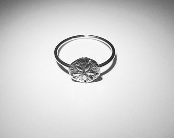 Sand Dollar Ring - Sterling Silver