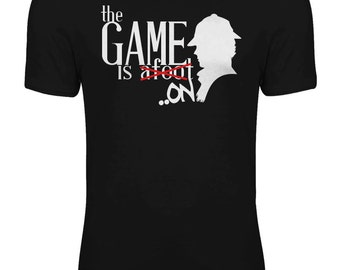 Sherlock - The Game is Afoot/On TV Series Womens T-shirt