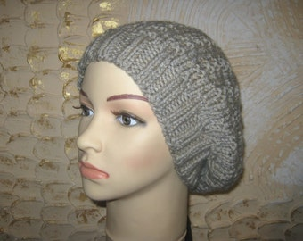 Knitted hat for  women.