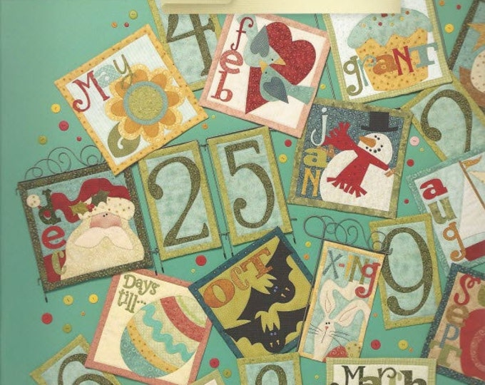 Count On It - Pattern Book by Art to Heart - Nancy Halvorsen Quilt Patterns - More than 15 Project Designs (W1419)