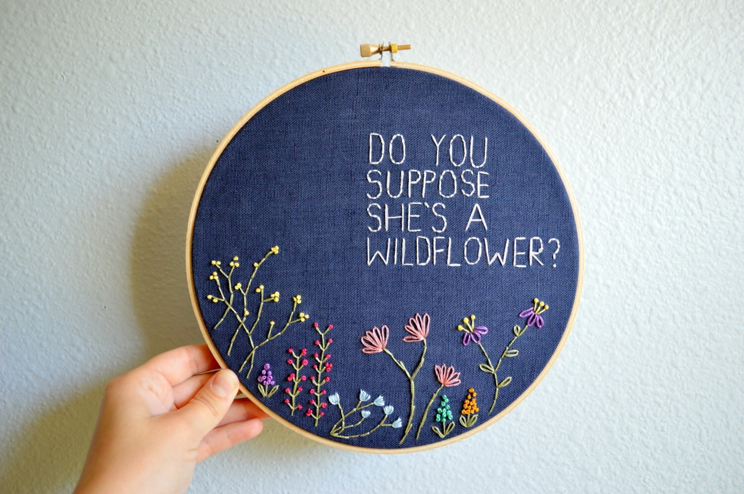 Do you suppose she s a wildflower whimsical by breezebotpunch