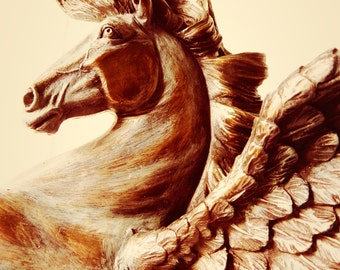 Pegasus Study Number 2 - Photo Print