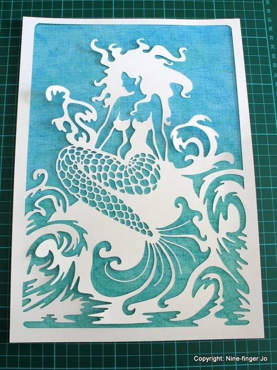 Wall Decoration By Paper Cutting : Paper cut art cutting out wall by