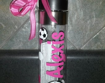 Personalized Sports Water Bottles, Teams or individuals