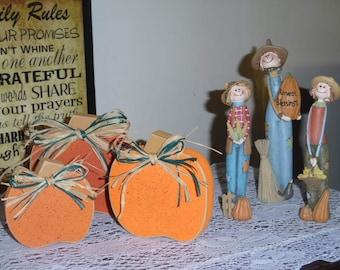 Fall Pumpkin Set- 3 Pieces