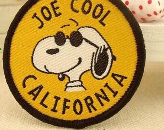 Joe Cool California Badge Sew on Patch for kids CB23-4