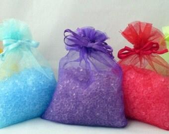 Aroma Bead Sachets, Air Freshener sachet, choose scent, room freshener, room deodorizer, air freshener, auto freshener, aroma beads