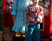 Girl's Sewing Pattern: The Prairie Rose Dress, Blouse, Pants, Maxi Skirt 18m to 8 (PDF Digital File)