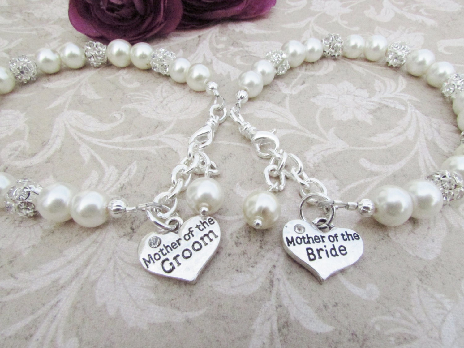 Gifts For Bride On Wedding Day From Bridesmaid: Mother Of The Bride Bracelet Mother Of The Groom Mother Of The