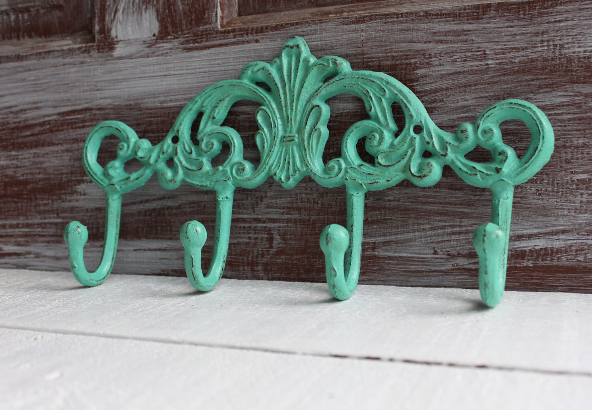 Decorative Wall Hooks Cast Iron Coat Hooks Metal By