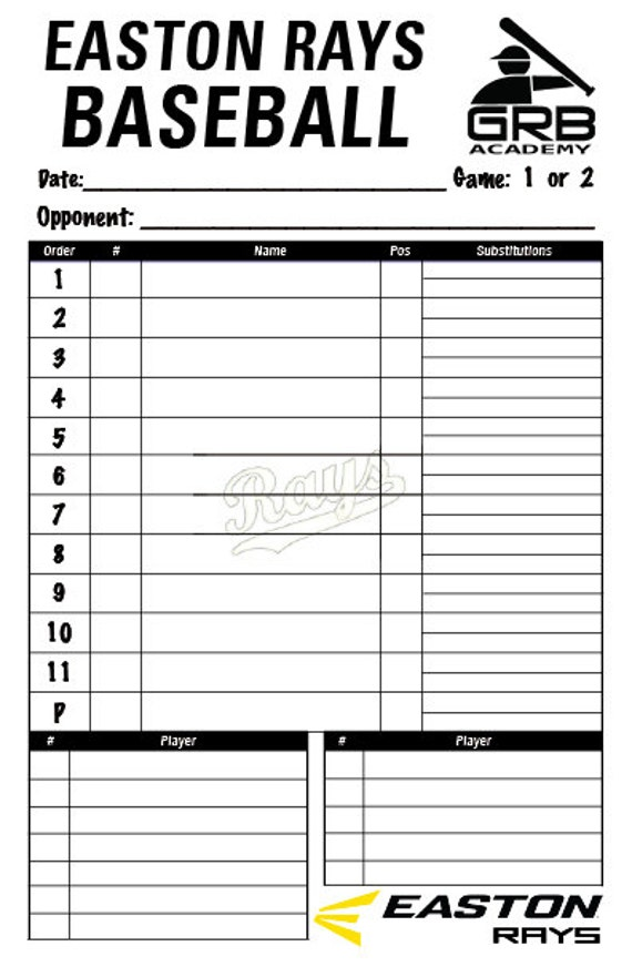 Search results for baseball lineup template calendar 2015 for Free baseball lineup card template