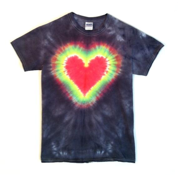 tie dye shirt on black 100 cotton by
