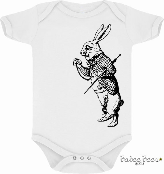 Items similar to Alice in Wonderland Baby Baby Clothes
