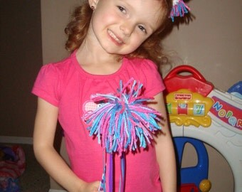 Abby Cadabby inspired Headband And Wand Set, Halloween costume, birthday party, christmas gift, and dress up!