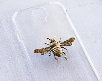 S4 Case Bee iPhone 7 Bee Cover Samsung S4 Clear Transparent Samsung  Cases Gold iPhone 7 Case Bees Girly iPhone 7 Case Cute Samsung