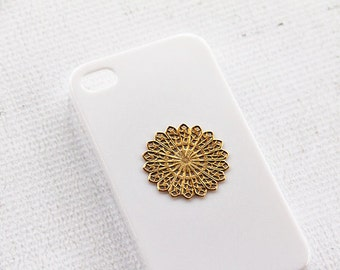iPhone 6s Case Hipster iPhone 7 Plus Mandala Shape Vintage Handmade Case for Apple iPhone 7  White Phone Case iPhone 7 Case