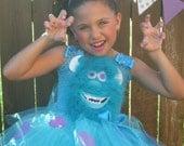 Monster's Inc Sully Tutu Dress....costume, tutu set, birthday, halloween, parties