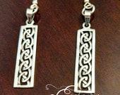 925 Sterling Silver Celtic Knot Earrings