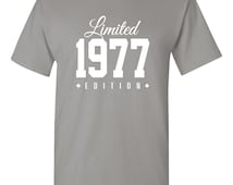 1977 Limited Edition 39th Birthday Party Shirt, 39 years old shirt, limited edition 39 year old, 39th birthday party tee shirt TH-129