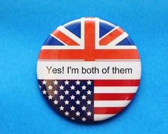 flag bottle opener,flag pin,pinback pin,usa flag,england flag pin,usa flag pocket mirror,citizenship ceremony,citizenship,dual citizenship