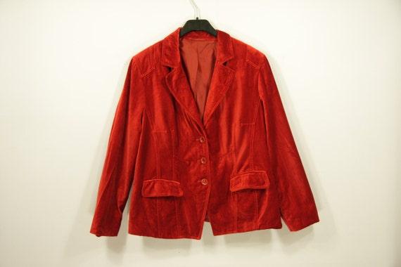 chaude velours rouge veste classique lumineux rouge blazer des. Black Bedroom Furniture Sets. Home Design Ideas