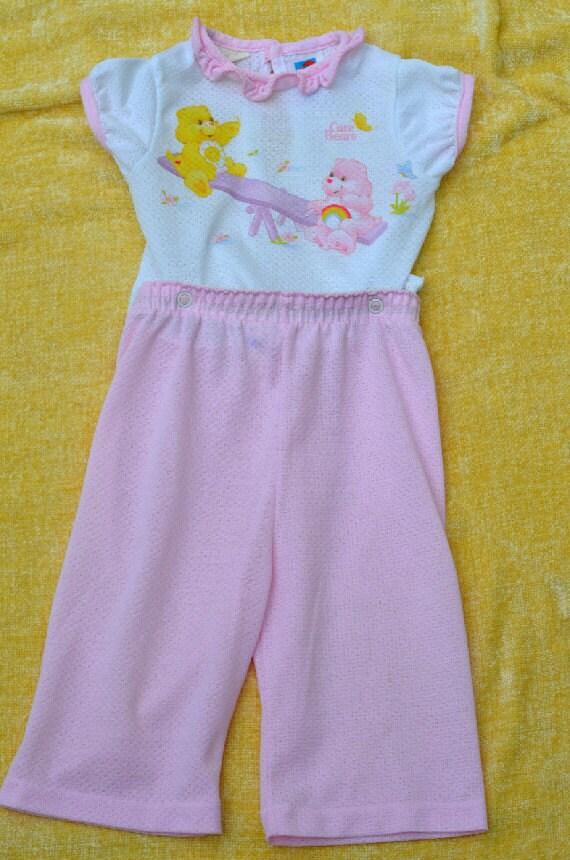 80s Toddler Pajamas Care Bears Carter S 12 Months Baby