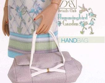 Sewing pattern for 16 inch fashion dolls: Garden Handbag