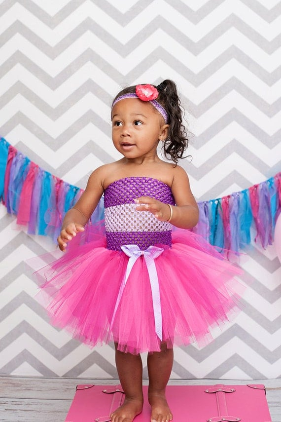 Doc McStuffins Tutu Dress available via OhMyTutuCuteByDeanna