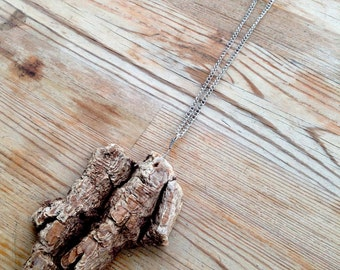 Medium Driftwood Pendant