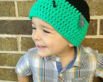 Crochet Frankenstein Hat, Halloween Monster hat, Monster beanie, Frankenstein Wig, Frankenstein Costume, Child Frankenstein Hat